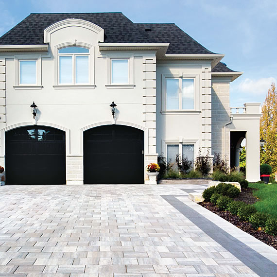 Image of a driveway featuring Trevista 80 Smooth product