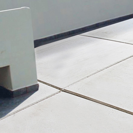 Detail image of a rooftop paver
