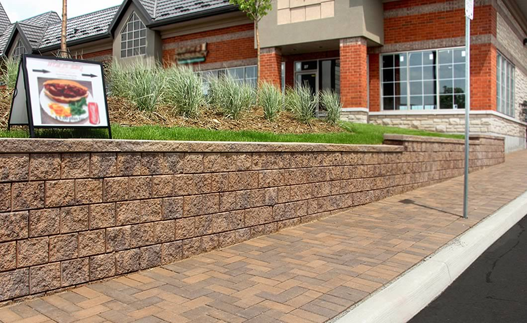 Image of a drivethru featuring Standard Paver (Buff-Brown Mix) product