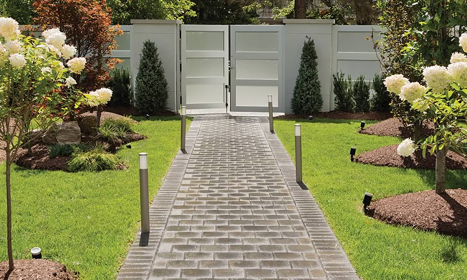 Image of a walkway featuring Double Standard product