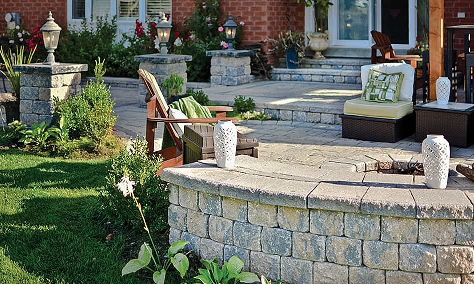 Image of a patio featuring Parkwall Antico product