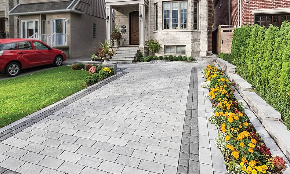 Image of a driveway featuring Richmond 80 product