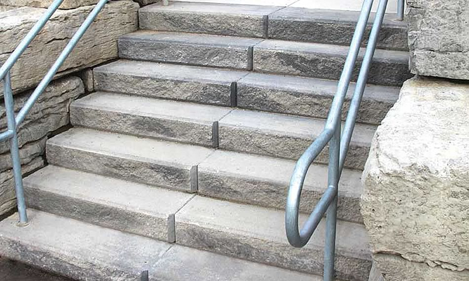 Image of steps featuring Ridge Step product