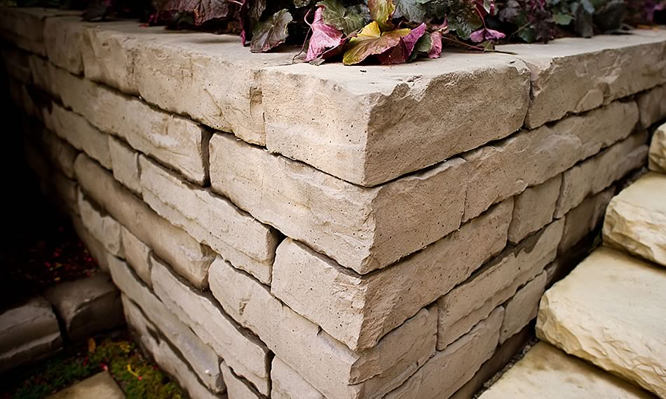 Image of a wall featuring Rockton product
