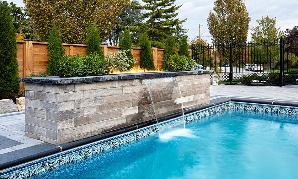 Poolside image featuring Soho Wall product