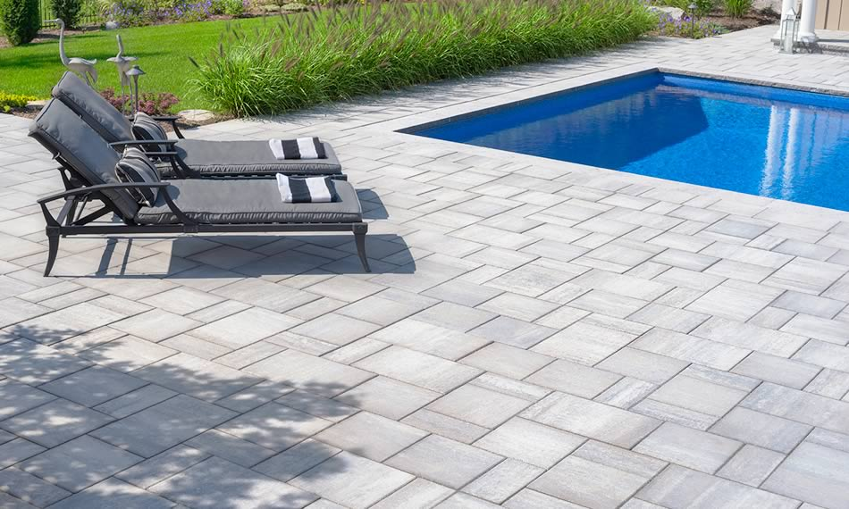 Image of a patio featuring Trevista 50 Smooth product