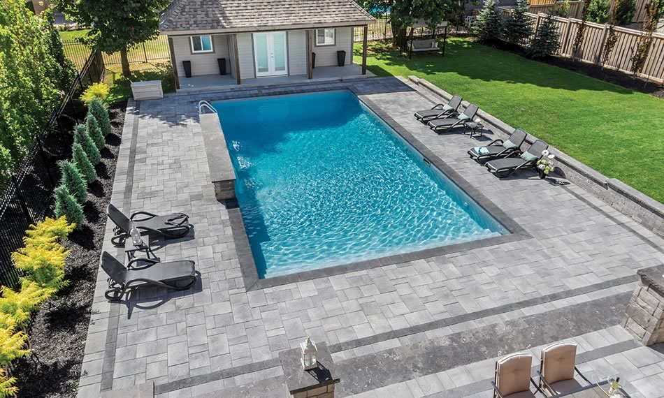 Image of a patio featuring Trevista Textured product