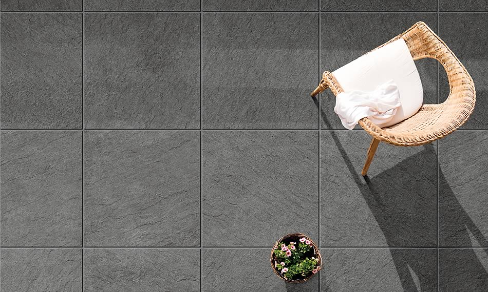 Image of a patio featuring Porcelain 24x24 product